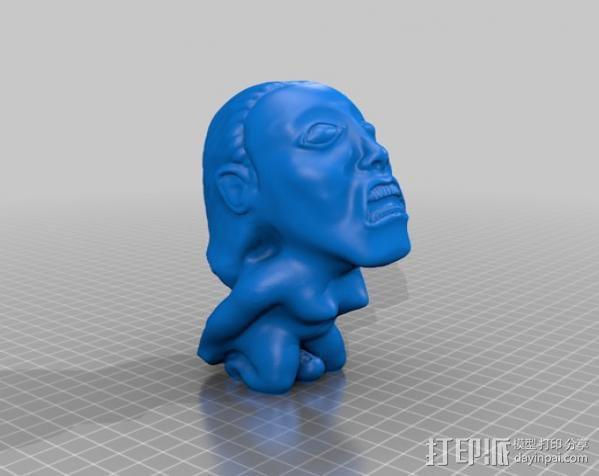 the fertility idol夺宝奇兵人物模型 3D模型  图4