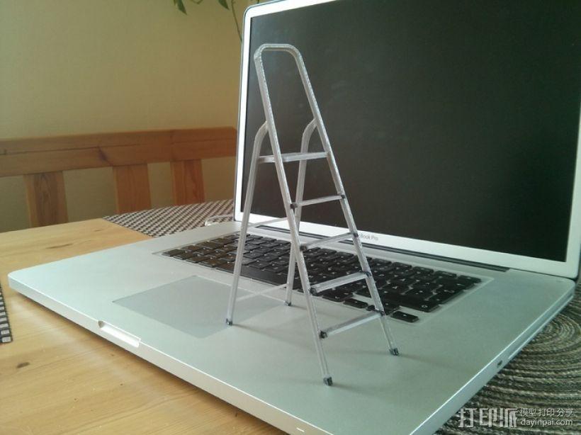 梯子 3D模型  图1