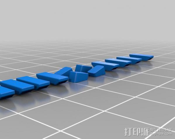 梯子 3D模型  图4