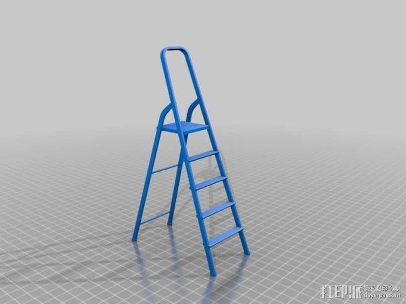 梯子 3D模型  图6