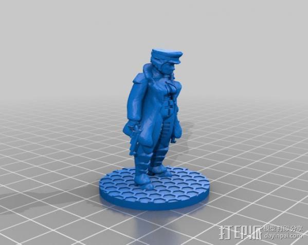 贝克船长模型 3D模型  图2