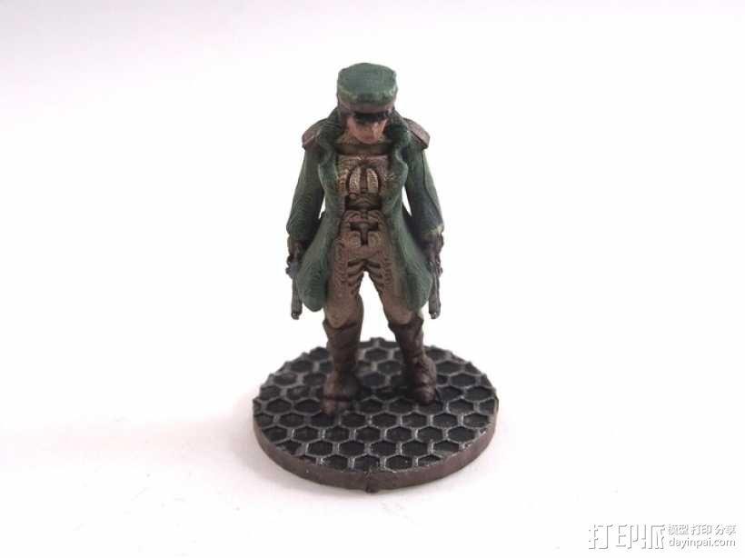 贝克船长模型 3D模型  图1