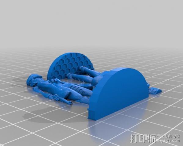 贝克船长模型 3D模型  图3