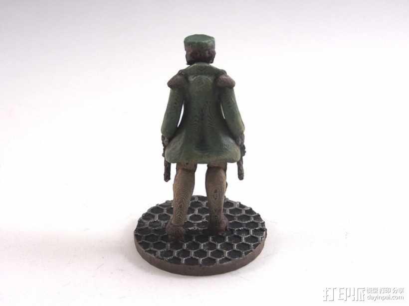 贝克船长模型 3D模型  图6