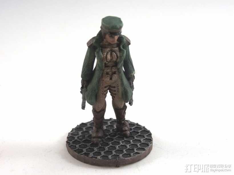 贝克船长模型 3D模型  图5