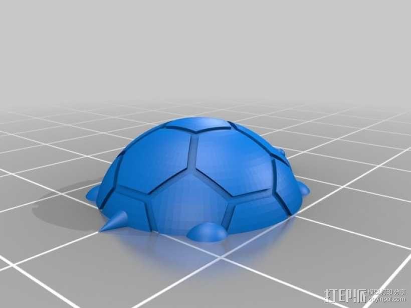 海龟 3D模型  图2