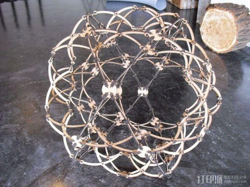 霍伯曼球体 3D模型  图5