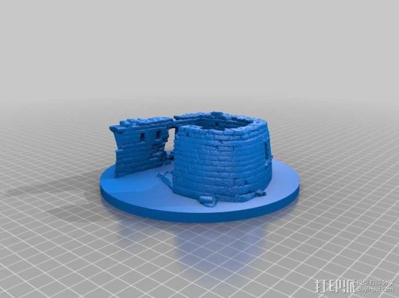 马丘比丘遗址 3D模型  图1