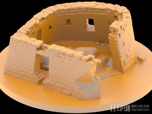 马丘比丘遗址 3D模型  图2