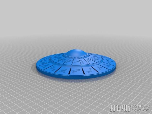 DHD拨号装置 3D模型  图2