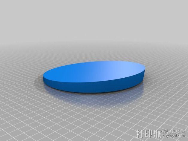 DHD拨号装置 3D模型  图4