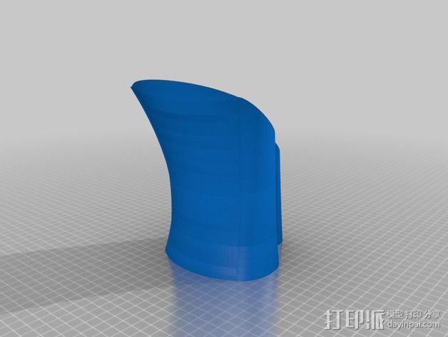 DHD拨号装置 3D模型  图3