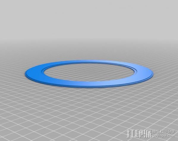 DHD拨号装置 3D模型  图7
