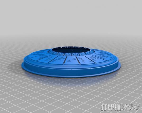DHD拨号装置 3D模型  图10