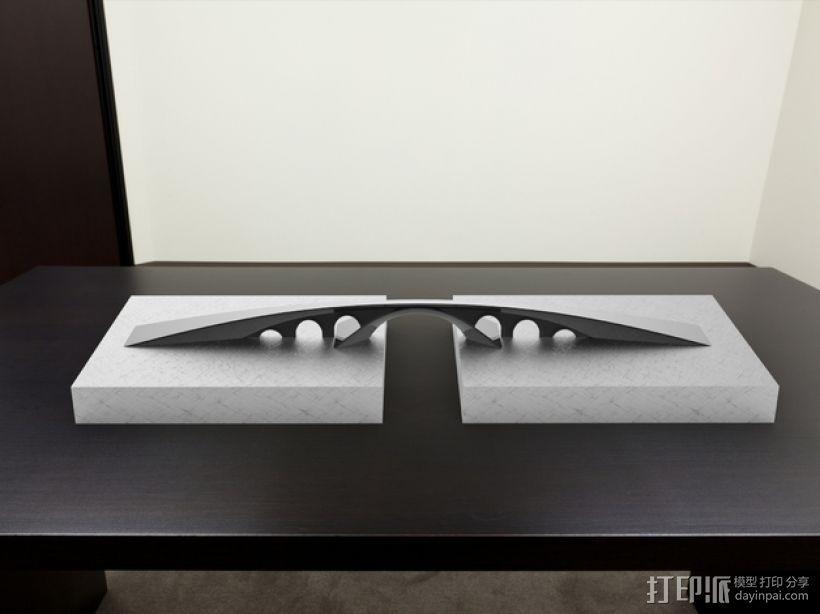 金角湾大桥 3D模型  图1