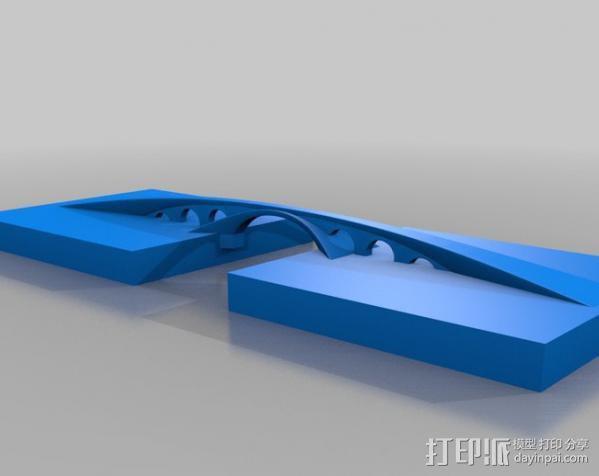 金角湾大桥 3D模型  图2