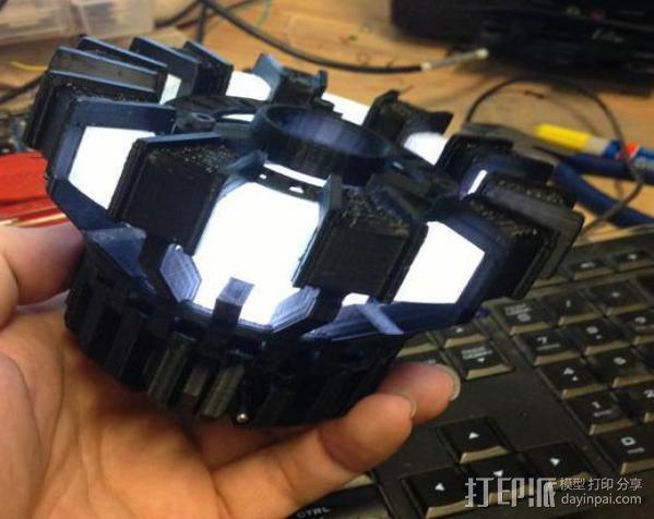 能量环盖帽 3D模型  图4