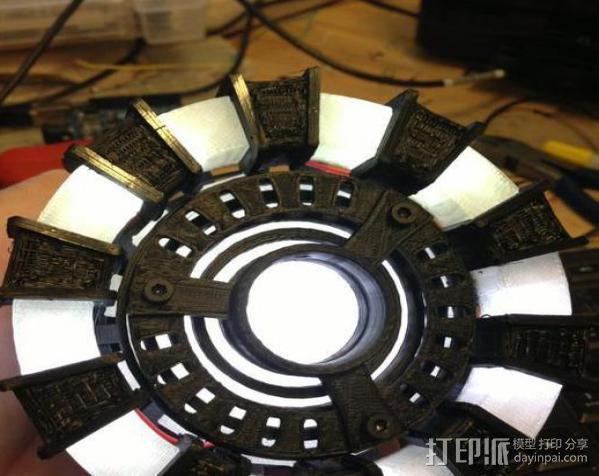 能量环盖帽 3D模型  图3