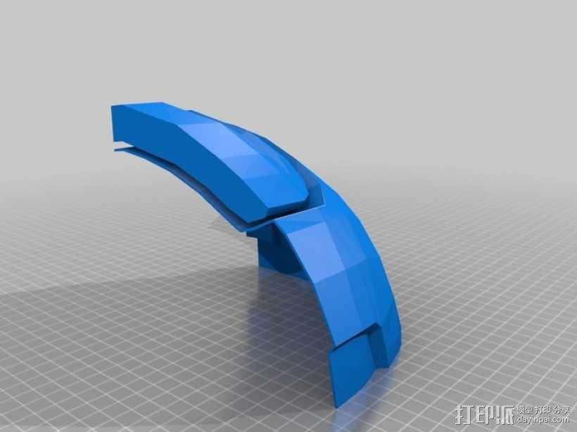 战争机器盔甲 3D模型  图4