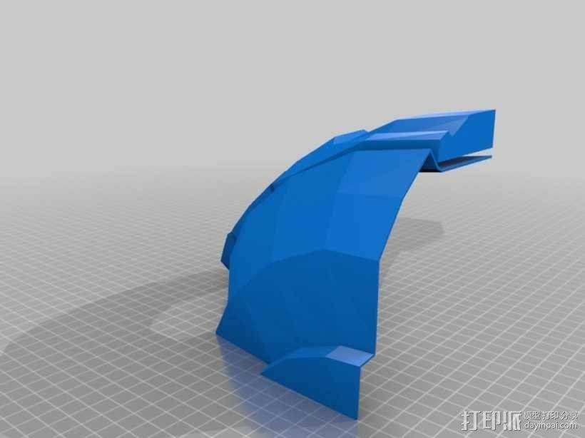 战争机器盔甲 3D模型  图5