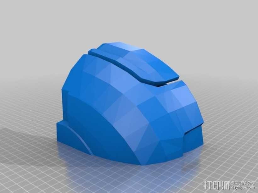 战争机器盔甲 3D模型  图6