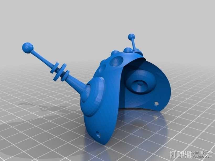 太空猫头盔 3D模型  图1