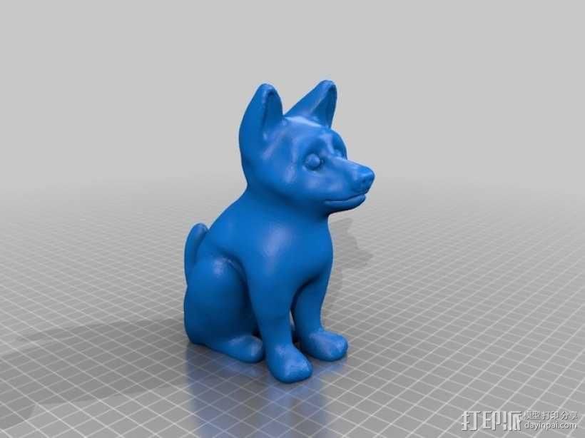 小狗 3D模型  图2