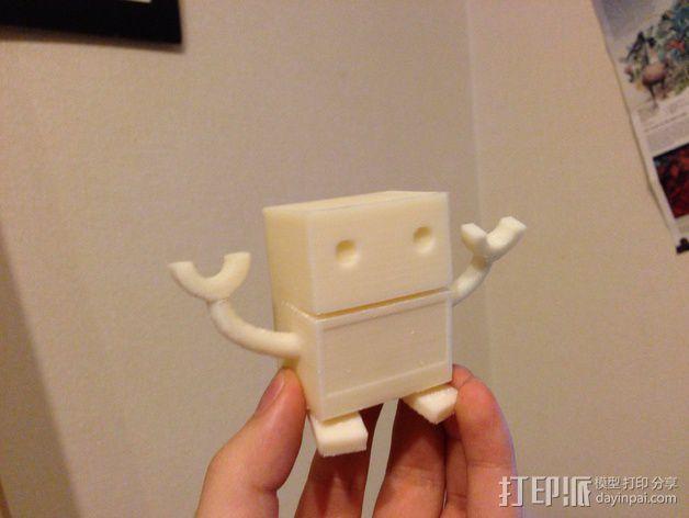 卡通机器人 3D模型  图2