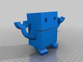卡通机器人 3D模型