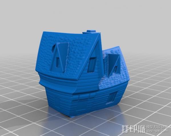 Peakton庄园 3D模型  图2