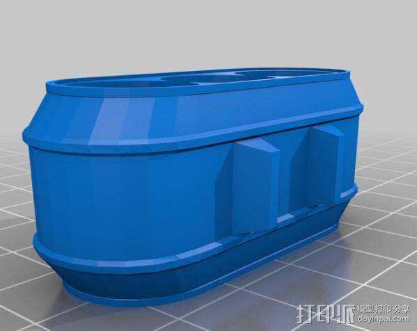 电池组套 3D模型  图3