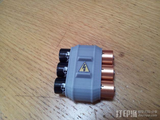 电池组套 3D模型  图4