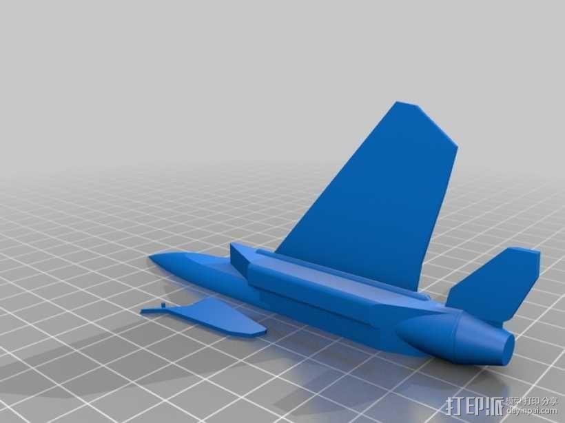 F-15喷射式战斗机 3D模型  图1