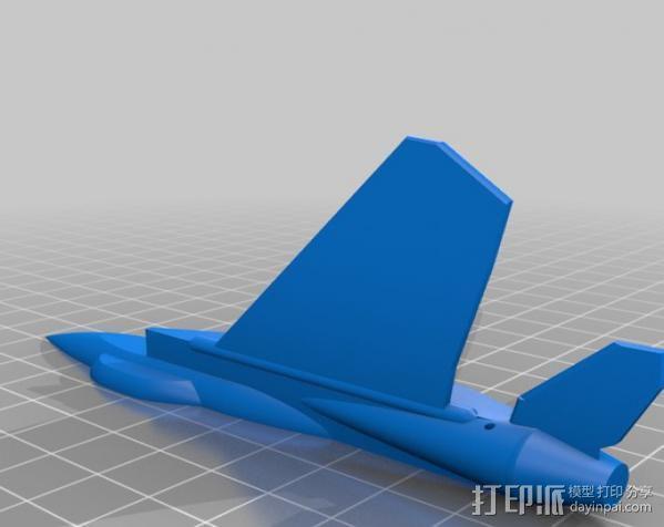 F-15喷射式战斗机 3D模型  图2