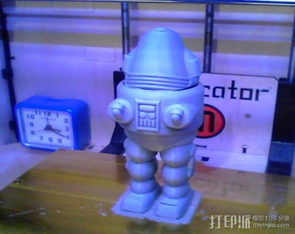 Schmobot机器人 3D模型  图3