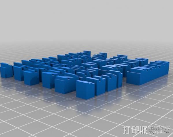 书架 书柜 3D模型  图2