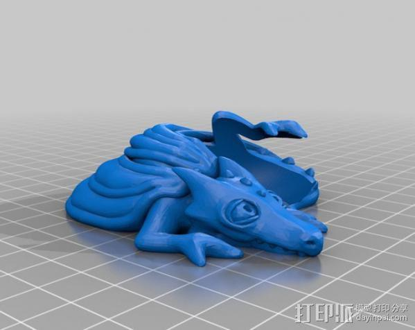 口袋妖怪迷你龙 3D模型  图1