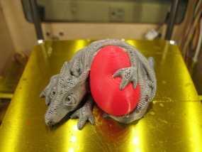 口袋妖怪迷你龙 3D模型
