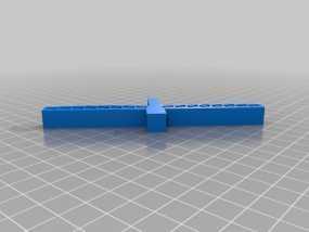 悬索桥模型 3D模型