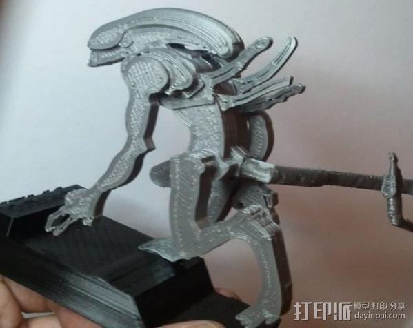 外星人 3D模型  图8