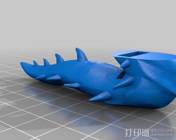 海德拉刺蛇USB套 3D模型  图1