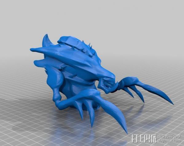 海德拉刺蛇USB套 3D模型  图2