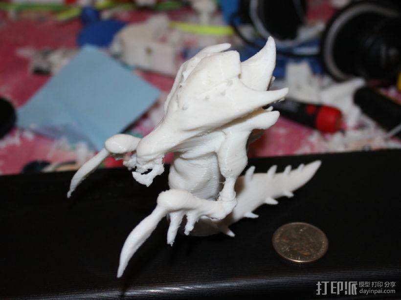 海德拉刺蛇USB套 3D模型  图3