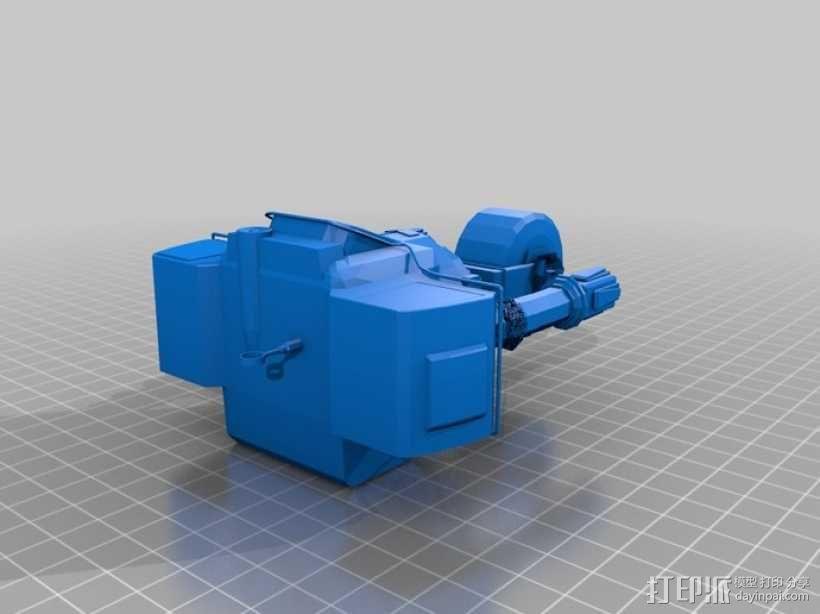 新维加斯机器人 3D模型  图1