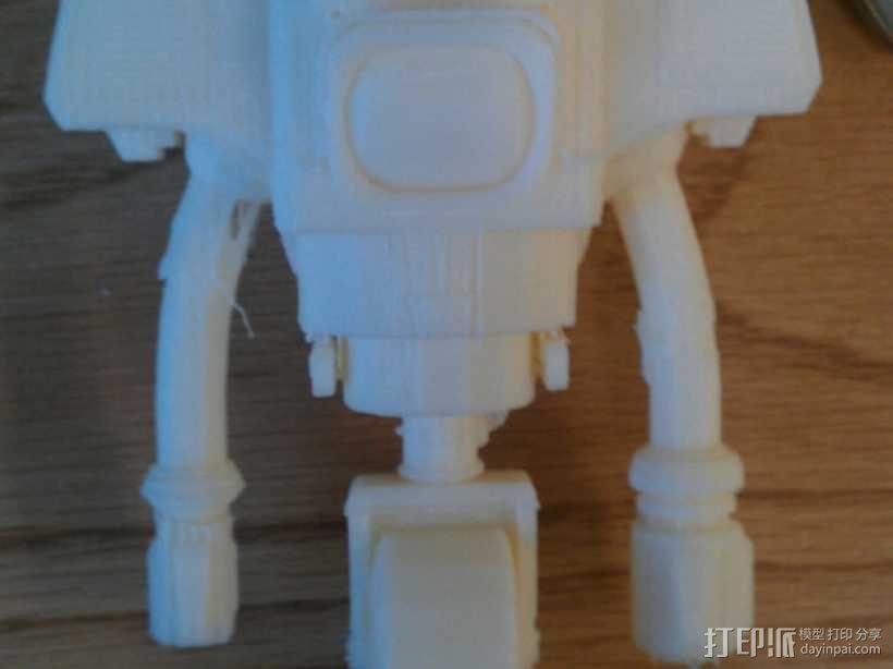 新维加斯机器人 3D模型  图2