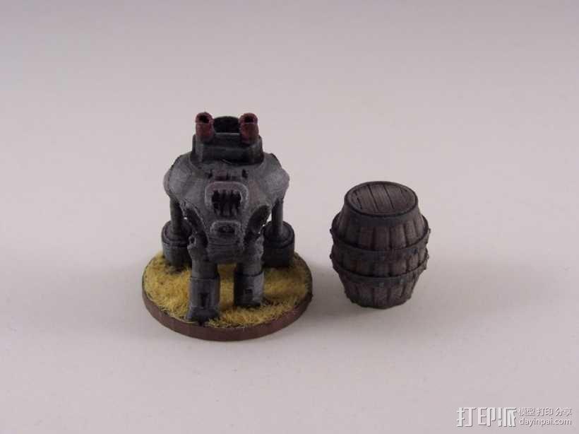 迪高机器人 3D模型  图6