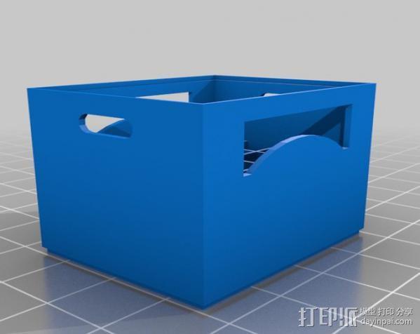啤酒箱 3D模型  图3
