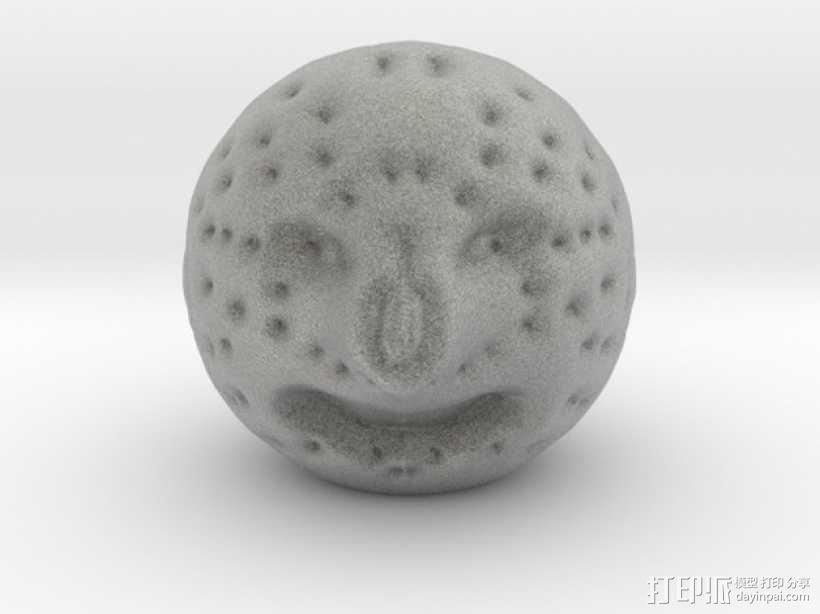 月亮先生 3D模型  图1