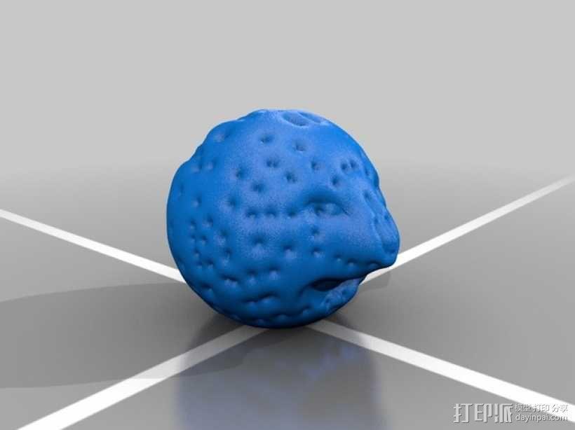 月亮先生 3D模型  图2