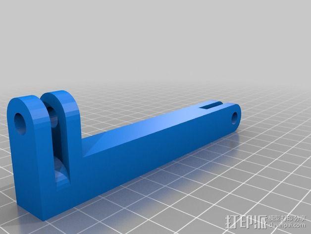 电视支架 3D模型  图3